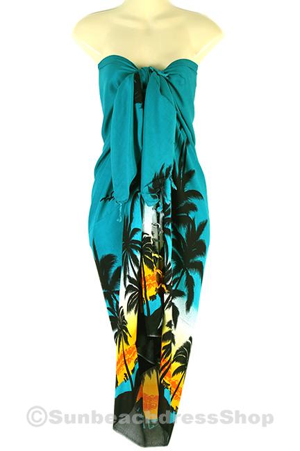 Sarong Pareo Skirt Dress