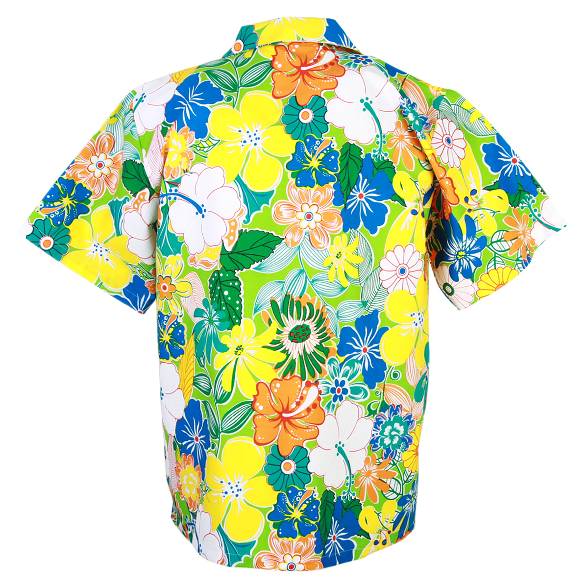 4be64e4a3 Details about Hawaiian Shirt Aloha Cotton Colorful Flower Leisure Beach  Holiday XXL hf908t